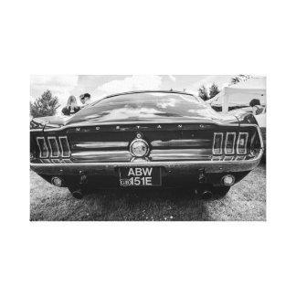 """Classic Mustang"" canvas prints/wall art"