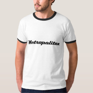 Classic Nash 'Metropolitan' script emblem T-Shirt