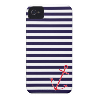 Classic Nautical Anchor Case-Mate iPhone 4 Cases