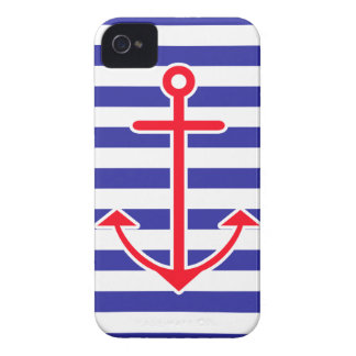 Classic Nautical Anchor iPhone 4 Cover