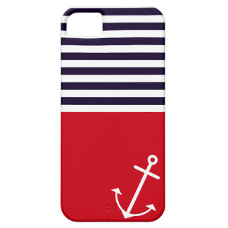 Classic Nautical Barely There iPhone 5 Case
