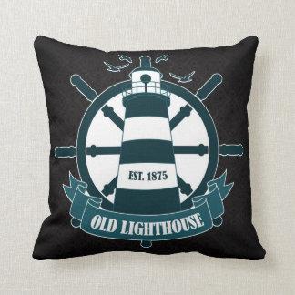 Classic Nautical Black pattern Cushion Pillow