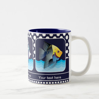 Classic Navy Blue Nautical Photo Mug
