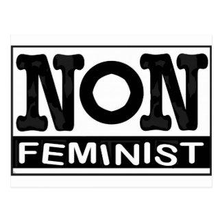 Classic non-Feminist logo Postcard