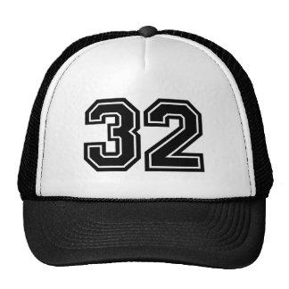 Classic Number 32 Cap