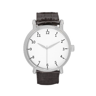 Classic Numeral Wristwatches