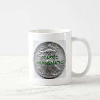 CLASSIC NUMISMATIC BASIC WHITE MUG