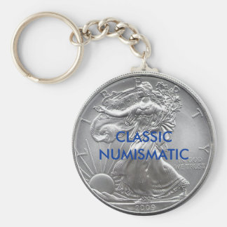 CLASSIC NUMISMATIC KEY RING