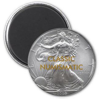 CLASSIC NUMISMATIC 6 CM ROUND MAGNET