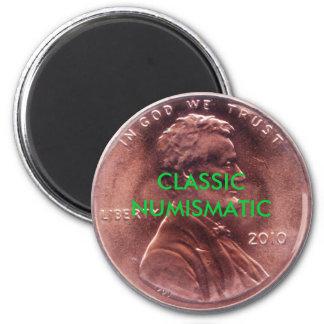 CLASSIC NUMISMATIC Penny 6 Cm Round Magnet