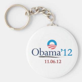 Classic Obama 2012 Keychain