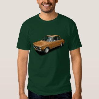 Classic Orange 1975 Beemer 2002 On Green T-Shirt