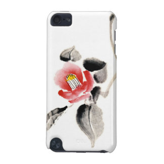 Classic oriental chinese sumi-e ink flowers paint iPod touch 5G cover