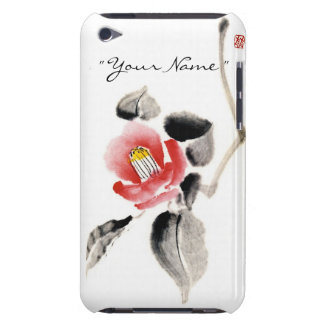 Classic oriental chinese sumi-e ink flowers paint iPod Case-Mate cases
