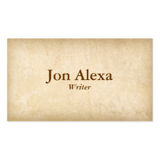 Classic Pack Of Standard Business Cards