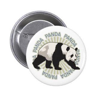 Classic Panda Bear 6 Cm Round Badge
