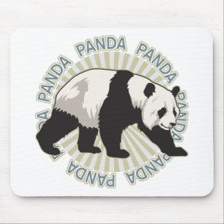 Classic Panda Bear Mouse Pad
