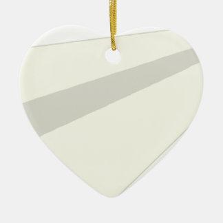 Classic Paper Aeroplane Ceramic Heart Decoration