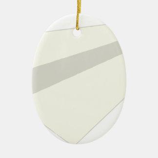 Classic Paper Aeroplane Ceramic Oval Decoration