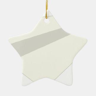 Classic Paper Aeroplane Ceramic Star Decoration