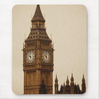 Classic photograph of Big Ben London England Mouse Pad