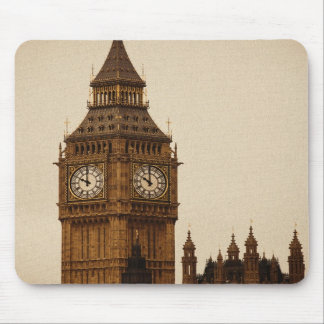 Classic photograph of Big Ben London England Mouse Pads