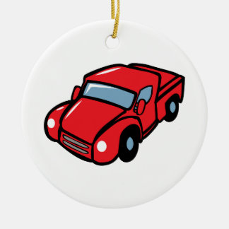 CLASSIC PICKUP TRUCK CHRISTMAS ORNAMENT