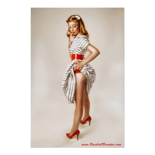 Classic Pin-up Poster