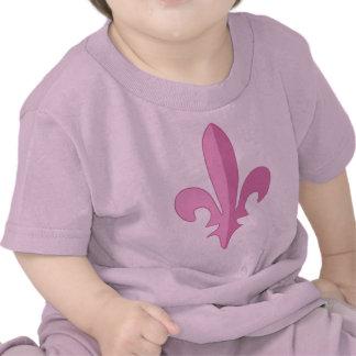 Classic Pink Fleur de lis T Shirt
