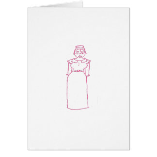 Classic Pink Greeting Card
