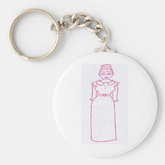 Classic Pink Keychains