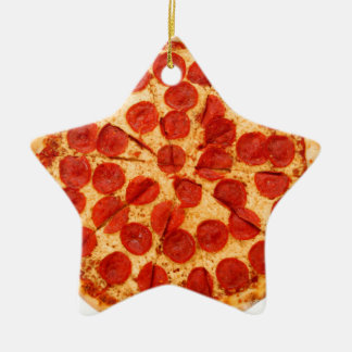 classic pizza lover christmas ornament
