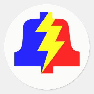 Classic PLA Logo Round Sticker