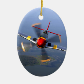 Classic Plane Christmas Ornament