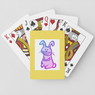 Classic Playing Cards BUNNY