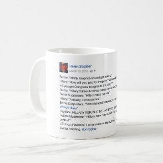 classic #ponygate meme mug! coffee mug