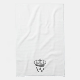 Classic Queen's Crown Tea Towel