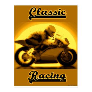 Classic Racing Postcard