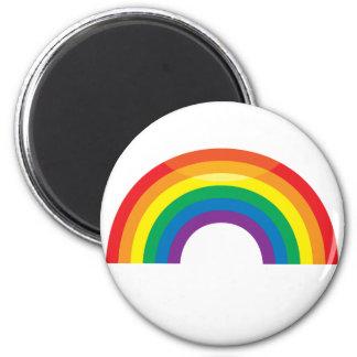 Classic Rainbow 6 Cm Round Magnet