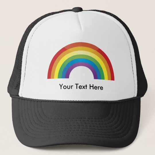 Classic Rainbow Hats - Custom Personalised