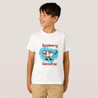 Classic Raspberry Sassafras Kid's Tee