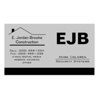 Classic Realtor-Construction-Handyman 1c Business Card