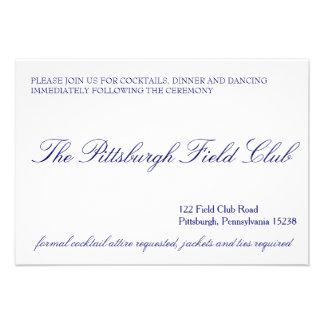 Classic Reception Card