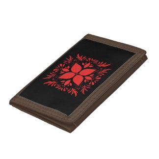 Classic Red-Black Indie designer wallet