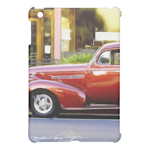 Classic Red Car Case For The iPad Mini