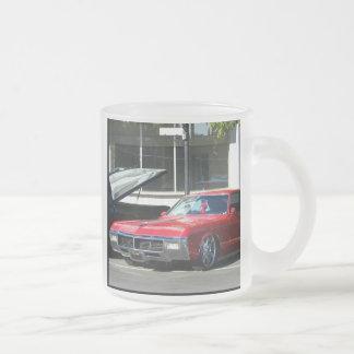 Classic red car mug