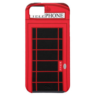 Classic Red Public Telephone Box UK: iPhone 5 Case