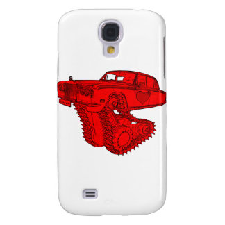Classic Red Rolls Royce Valentine s Fantasy Galaxy S4 Covers