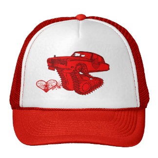 Classic Red Rolls Royce Valentine's Fantasy Cap