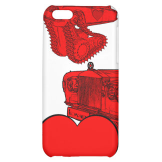 Classic Red Rolls Royce Valentine's Fantasy iPhone 5C Covers